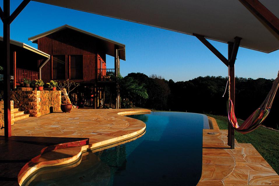 Swimming pools byron shire stone masonry for Pool builders yamba
